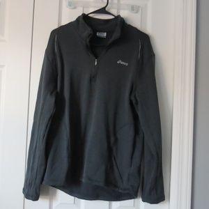 Gray Asics Pullover